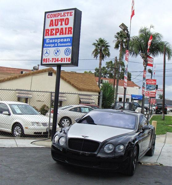 Our Auto Repair Shop in Corona in Riverside County
